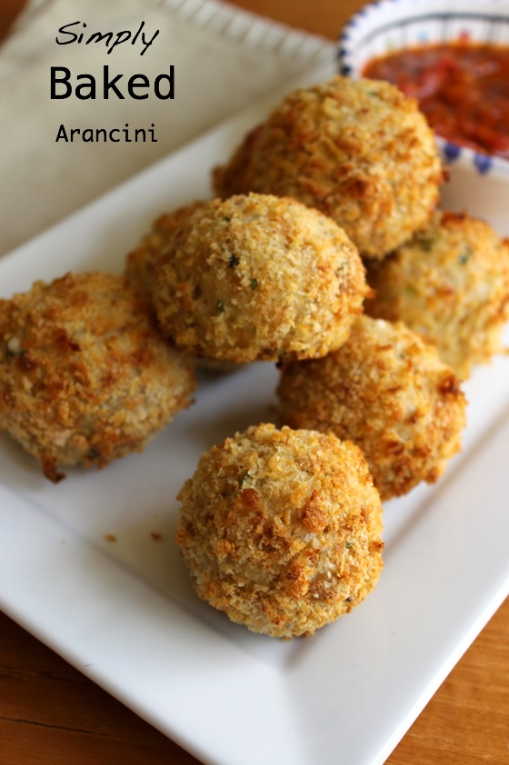 Easy Baked Arancini Recipe — Dishmaps