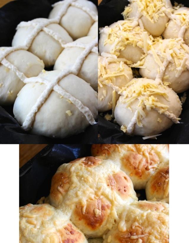 cheese buns hot cross