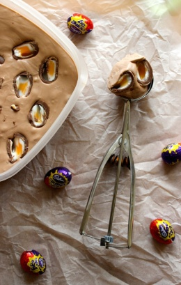 creme egg ice cream