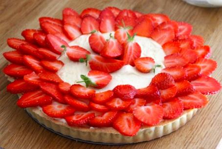 strawberry tart easy