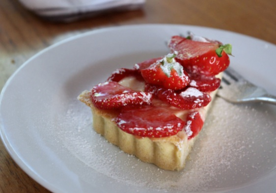 strawberry tarte