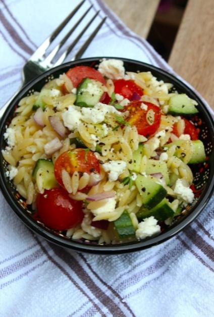 pasta salad orzo