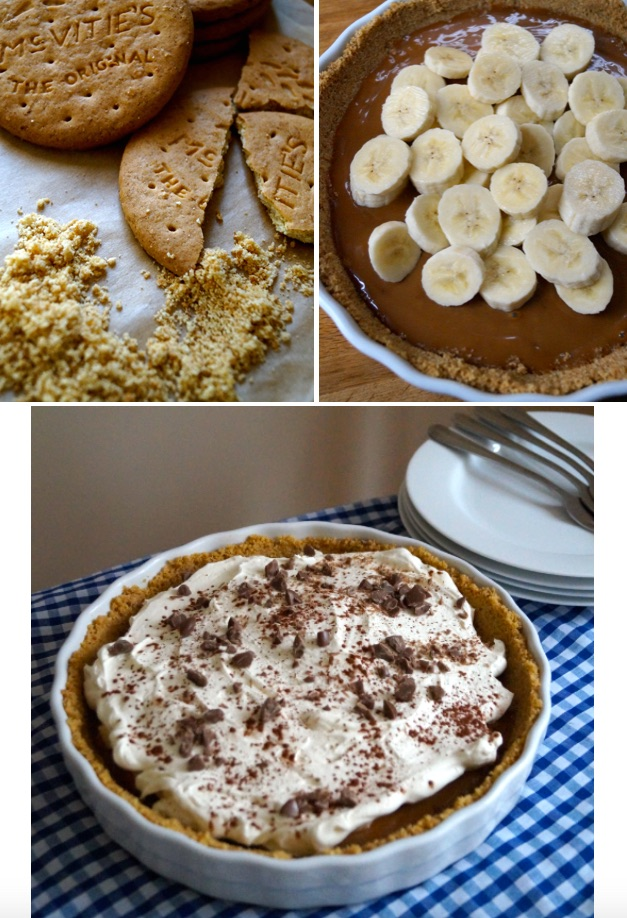banoffee collage