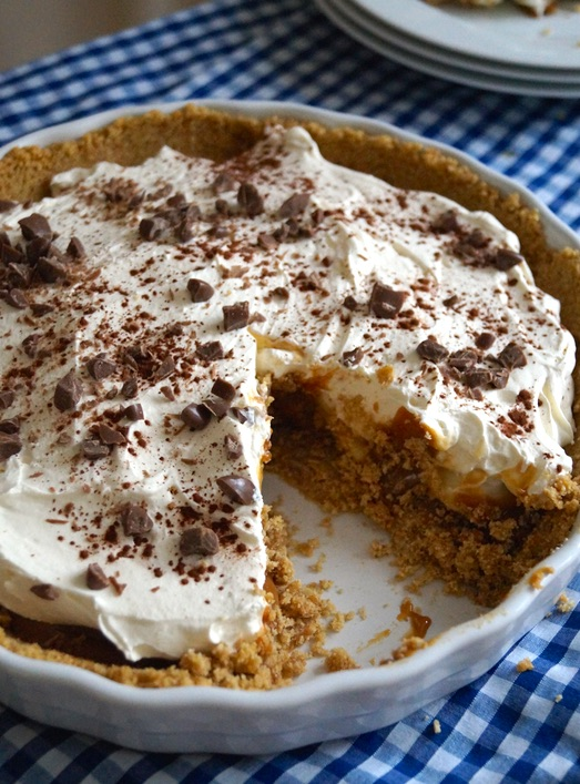 banoffee pie messy