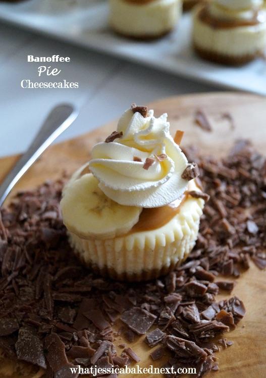 banoffee pie cheesecakes
