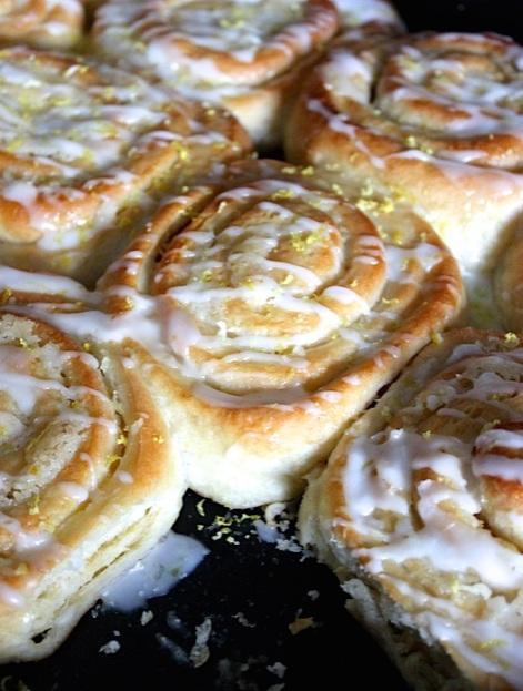 lemon buns recipe