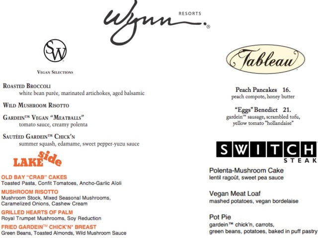menu wynn resort
