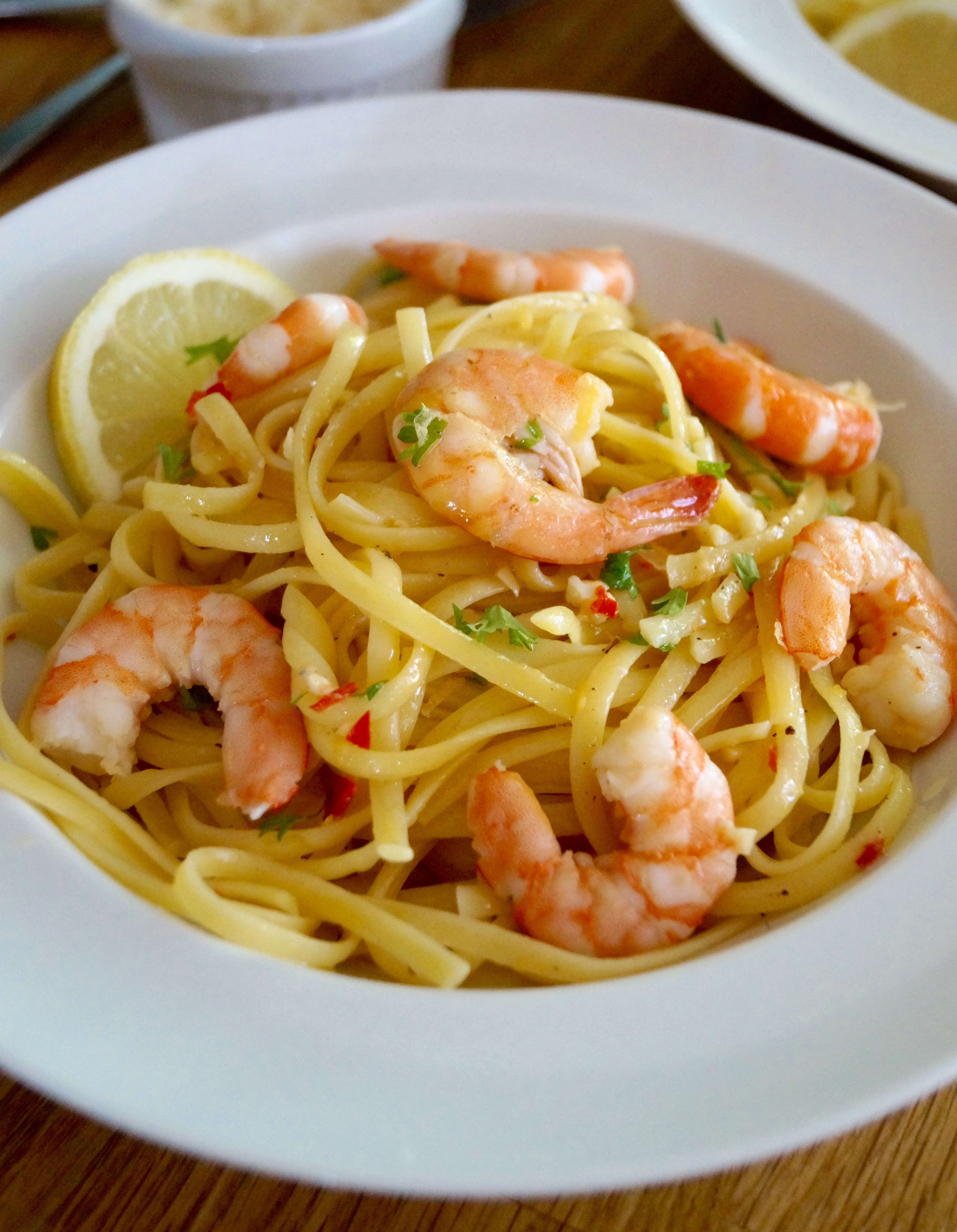Cached Pictures of linguine pasta