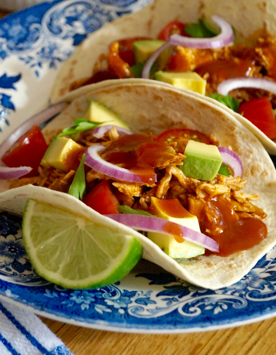 Chicken Tinga Tacos | What Jessica Baked Next...