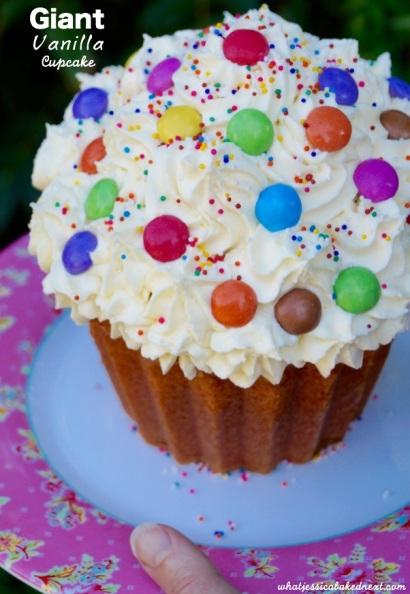 vanilla cupcake giant